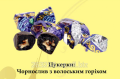 Чорнослив з волоським горіхом (обгортка)