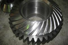 Tooth gearings (production)