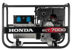 Gasoline-driven generator Honda ECT 7000 GV
