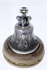 Колокольчик именной Св. Елена, бронза с
