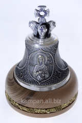 Hand bell St. Tatyana, bronze with silvering and