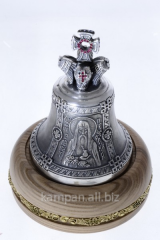 Hand bell of St. Agapit, bronze with silvering and