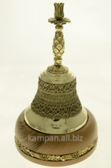 Hand bell Sacred and Dukhovsky skits candlestick,