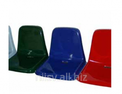 Fiberglass seats for waiting rooms, stands of