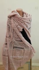 Теплый красивый шарф