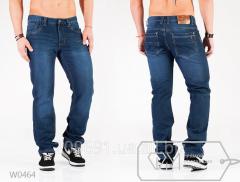 Мужские теплые джинсы