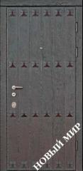 Entrance door metal, category 3, Gate