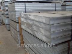 Plates aluminum of high-strength alloys (V93T),