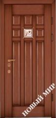 Entrance door metal, category 3, Lily of the