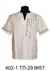 Shirt man's with Belst's embroidery