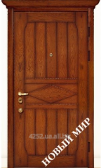Entrance door metal, category 3, Country