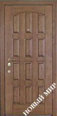 Entrance door metal, category 2, Chocolate