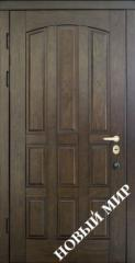 Entrance door metal, category 2, Natali Chocolate