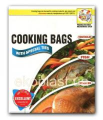 Packages for roasting of chicken, fish, vegetables