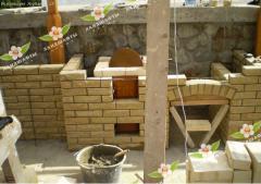 Барбекю уличные. Строительство садовых