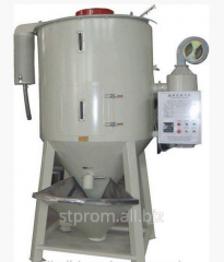 Mixers horizontal with melting table for melting