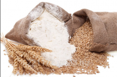 Flour from firm grades of whea