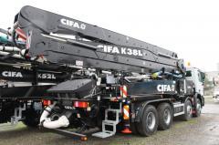 Cifa K38L concrete pump