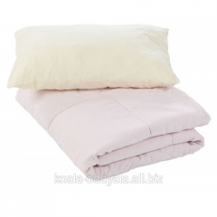 "Комплект одеяло + подушка ""Зимние"