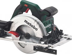 Circular saw of Metabo KS 55 FS (1,2 kW, disk of