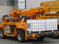 Устаткування машинобудівне  Установка для торкрет бетонування CIFA Spritz System 3