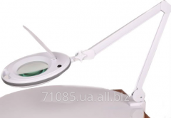 Cosmetology lamp magnifying glass on 8 dioptries