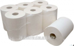 Paper towel in a roll