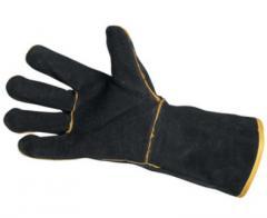 Перчатки для сварки (замш)