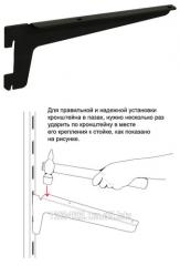 Скоба однопазная Г-образная 180 мм L8210BL