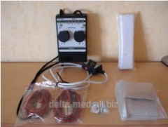 MIORITM 021 electrostimulator with the power supply unit. Electrotherapy devices