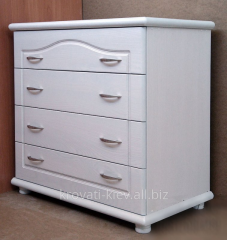 Dresser white 4 boxes from the massif