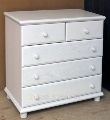Dresser of white color from the massif Ukraine