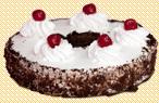 Торт Зимова вишня