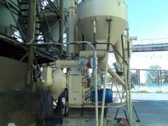 Urządzenie dla produkcji brykietów paliwowych