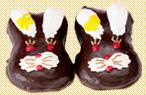 Пирожное Зайка глазурований