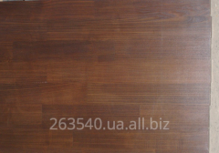 Furniture board from an ash-tree and an oak