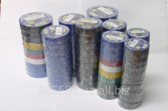 The insulating tape of color 10, 25, 50 m to get
