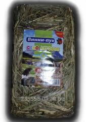 Сено луговое разнотравье 200 грамм