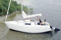 Яхта парусно-моторная круизная  `Орияна-21`
