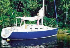 Яхта Орияна-33 круизная парусно-моторная