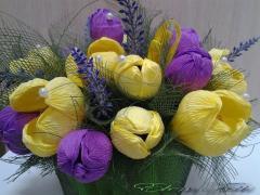 Candy bouquet Crocuses