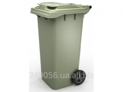 Tank for garbage of 120 liters