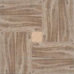 Cersanit Dallas tile Brown 42x42