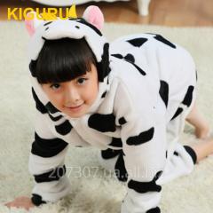 Children's pajamas of a kiguruma cow
