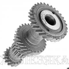 Block of gear wheels
