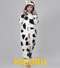 Kiguruma suit a cow for mountain skiers