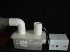 Humidifiers and sensors of humidity of air