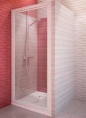 Shower door of CDO1/750 Silver/Transparent