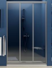 Shower doors of Ravak ASDP3-100 Pearl, Satin