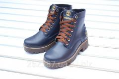 Женские ботинки Timberland кожанные / ботинки
